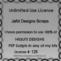 Niqui's Designs Unlimited Use License