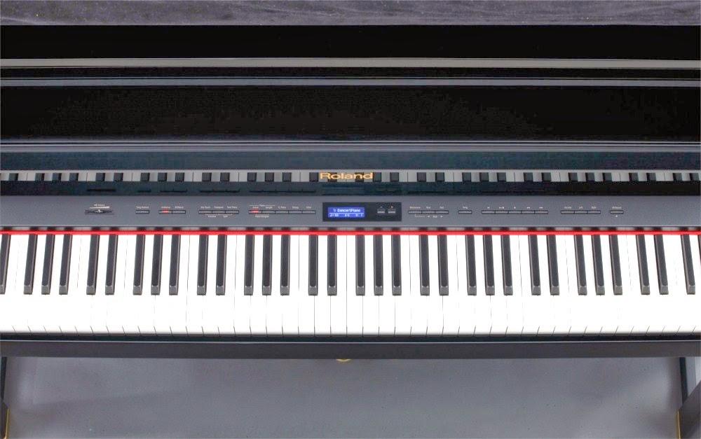 Roland LX15e control panel