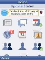 Download Facebook App v2.9.1 Handler UI204 for Any Java Supported Mobile Phone
