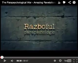 Razboiul Parapsihologic (1)  - Dezvaluiri uimitoare