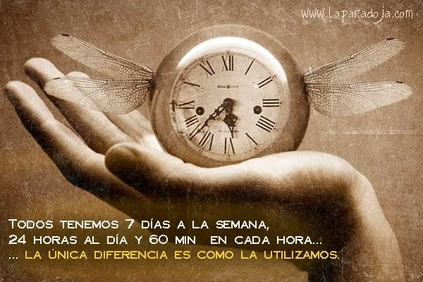 No desperdicies tu tiempo