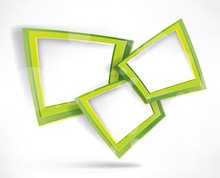 marcos modernos vectoriales 10