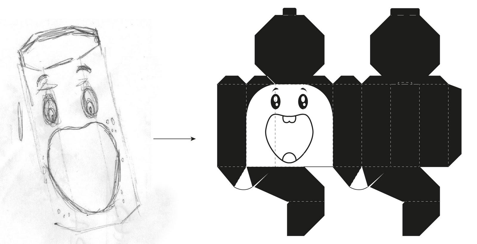 jack3l designs: Packaging - Doughnut 5Pack