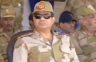 الفريق أول عبد الفتاح سعيد حسين خليل السيسي القائد العام للقوات المسلحة المصرية