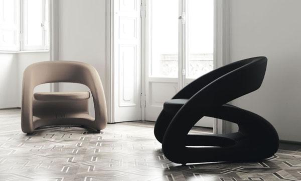 Poltronas para sala de estar ideias decora o mobili rio for Poltronas modernas