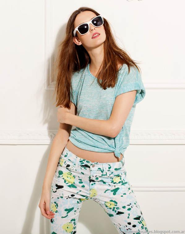 Ropa de mujer Gloria Jeanswear verano 2014. Moda 2014.