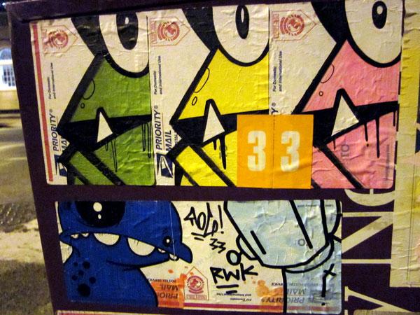 Sticker Jam: WTF, RWK, and Rog!