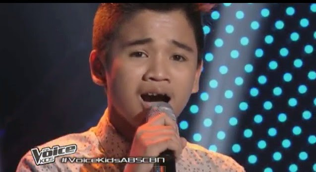 "Lorenzo Cinco sings ""What Makes You Beautiful"" on 'The Voice Kids' Philippines"