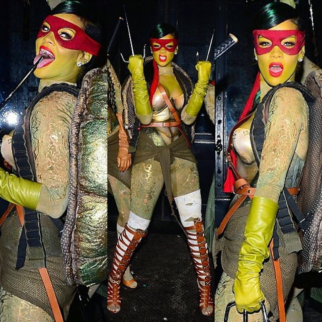 Rihanna es una tortuga ninja
