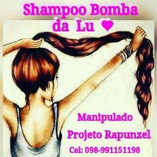 Shampoo Bomba da Lú
