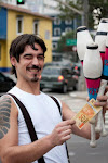 Destaque do Mês: Malabarista Nicolas Gonzalez