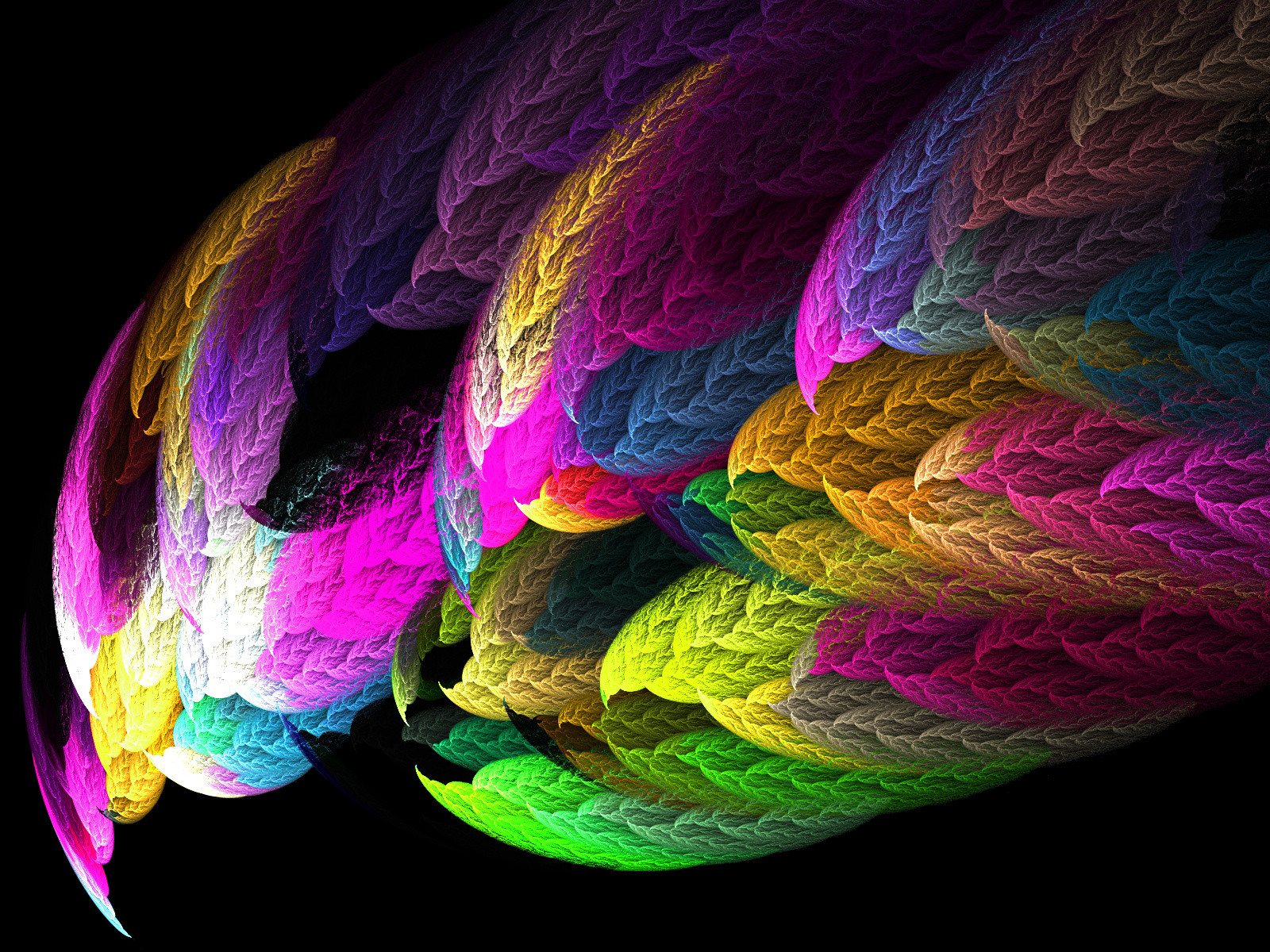 Wonderful Design Art Abstract colored wallpaper