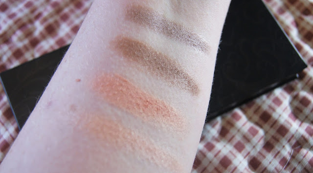Me Me Me The Ultimate Eye Palette in Soft Rose Swatches