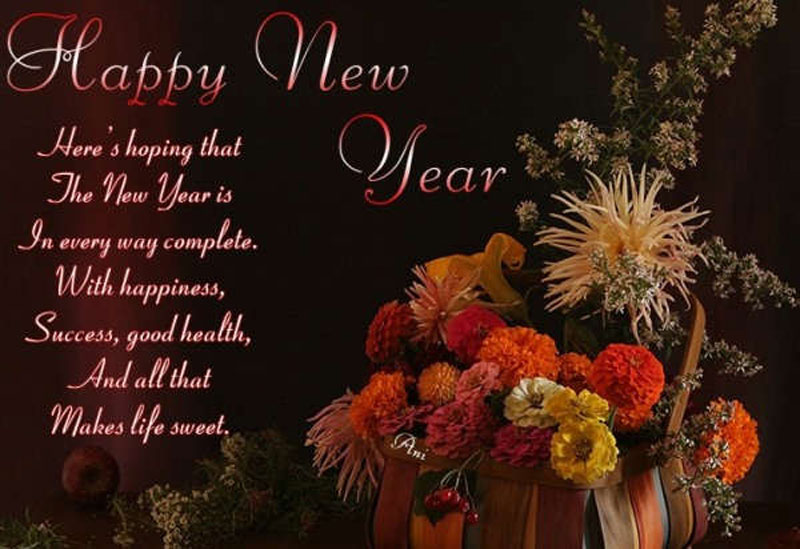 Happy New year message songs wishes cards resolution quotes saying pictures