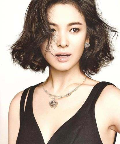 Song Hye Kyo short Hairstyle photo