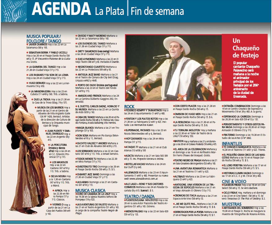 1 mayo 2007 argentina: