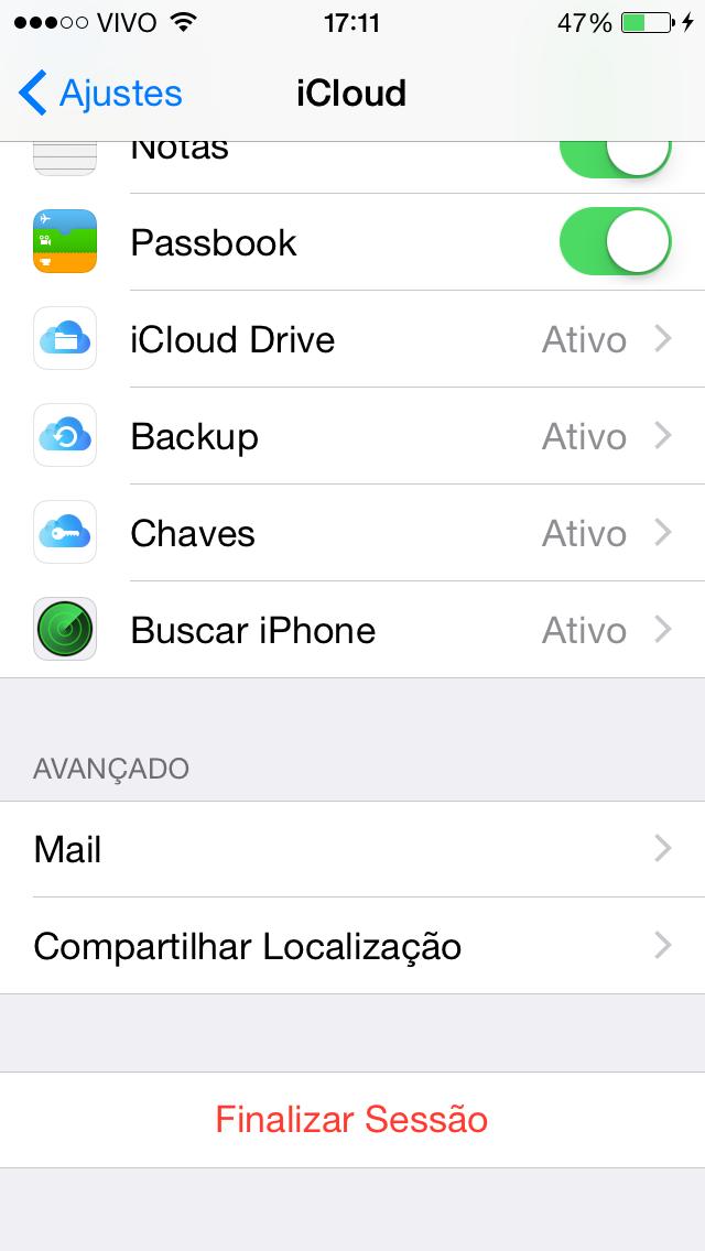 iCloud iOS 8