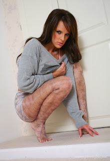 Mackenzie White Playing In Pantyhose