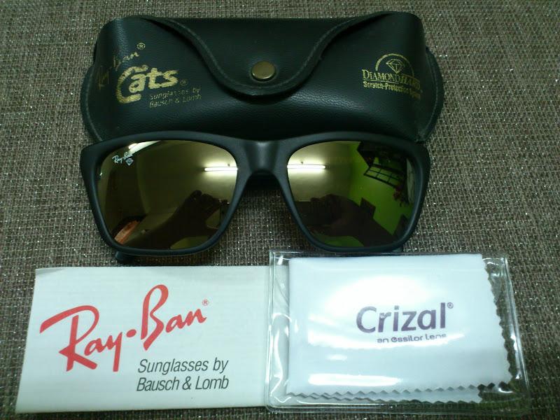 Vintage Bausch Amp Lomb Rayban Sunglasses SOLDRay Ban