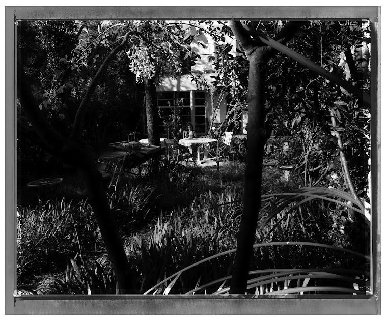 Laurence au jardin