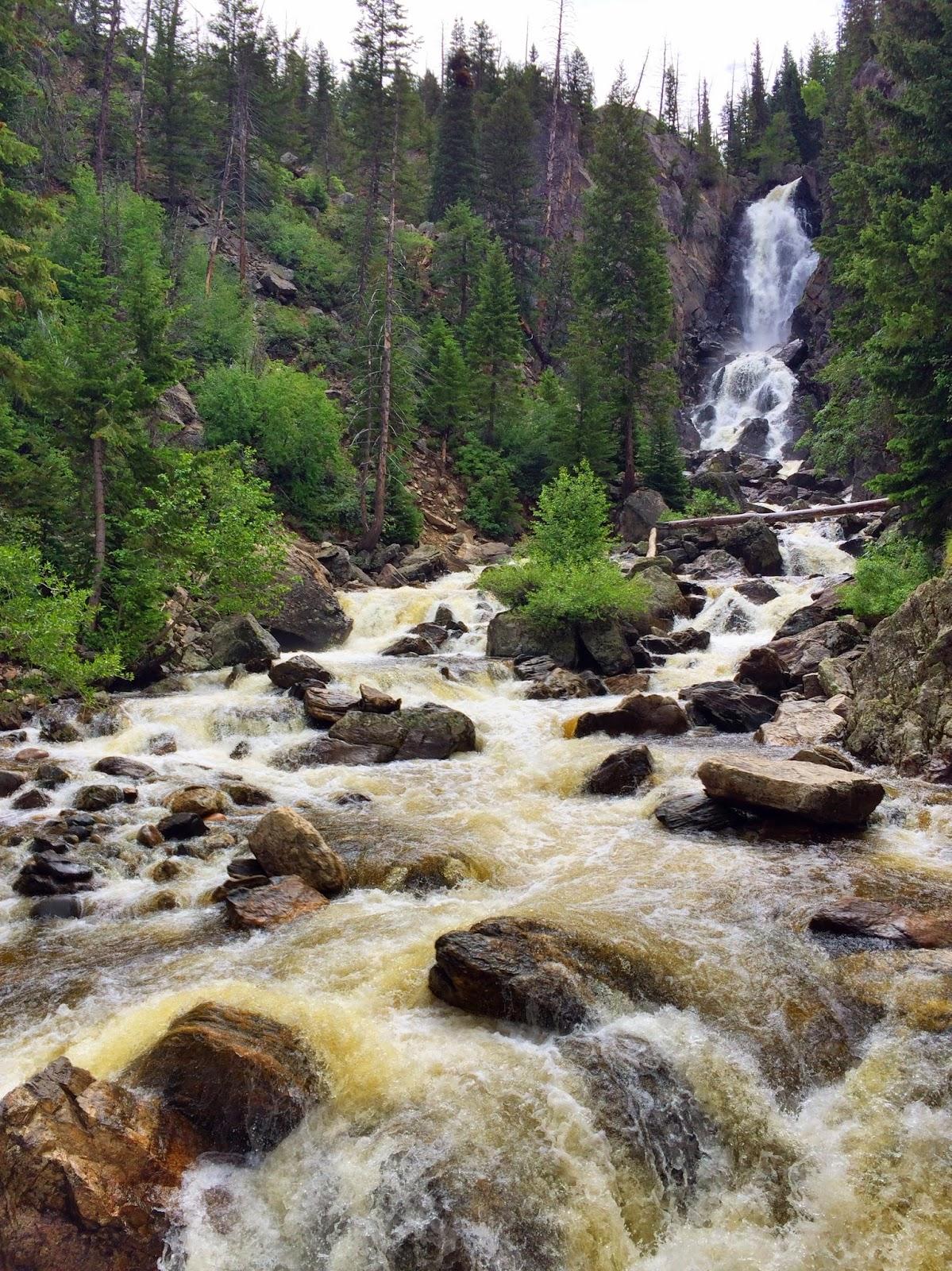 The freelance adventurer girls trip 2014 la to colorado for Fish creek falls