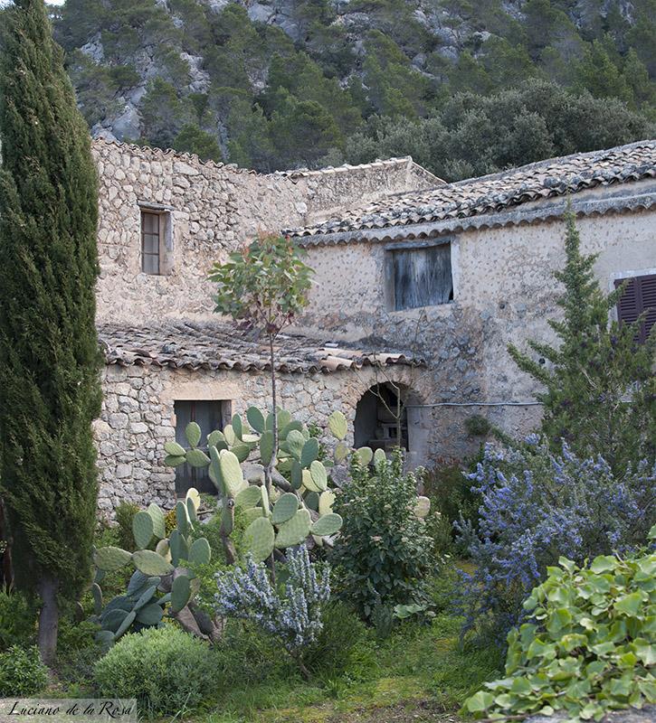 Ermita de Valldemossa, parte trasera de una de las antiguas contrucciones de la ermita