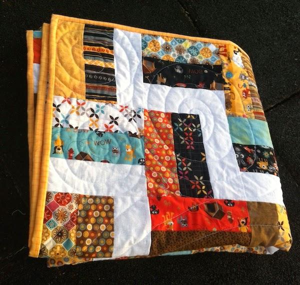 patchwork fencerail baranda quilt espirales