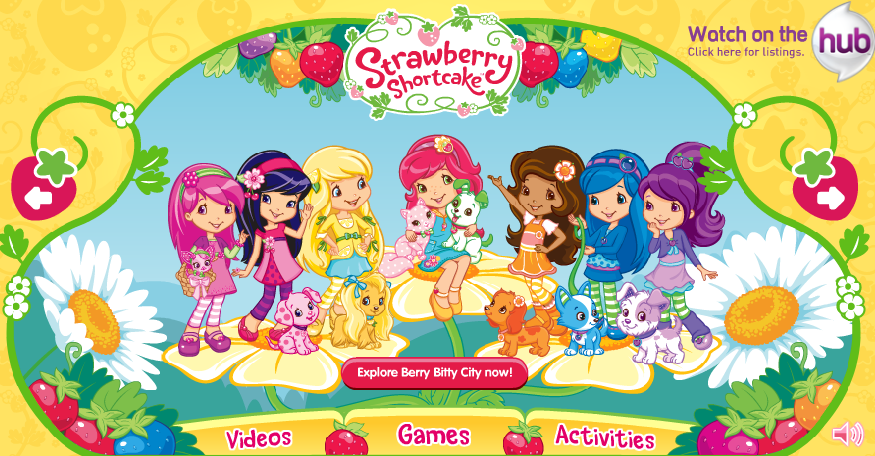 ... Hutch: Strawberry Shortcake's Berry Bitty Adventures Season Three