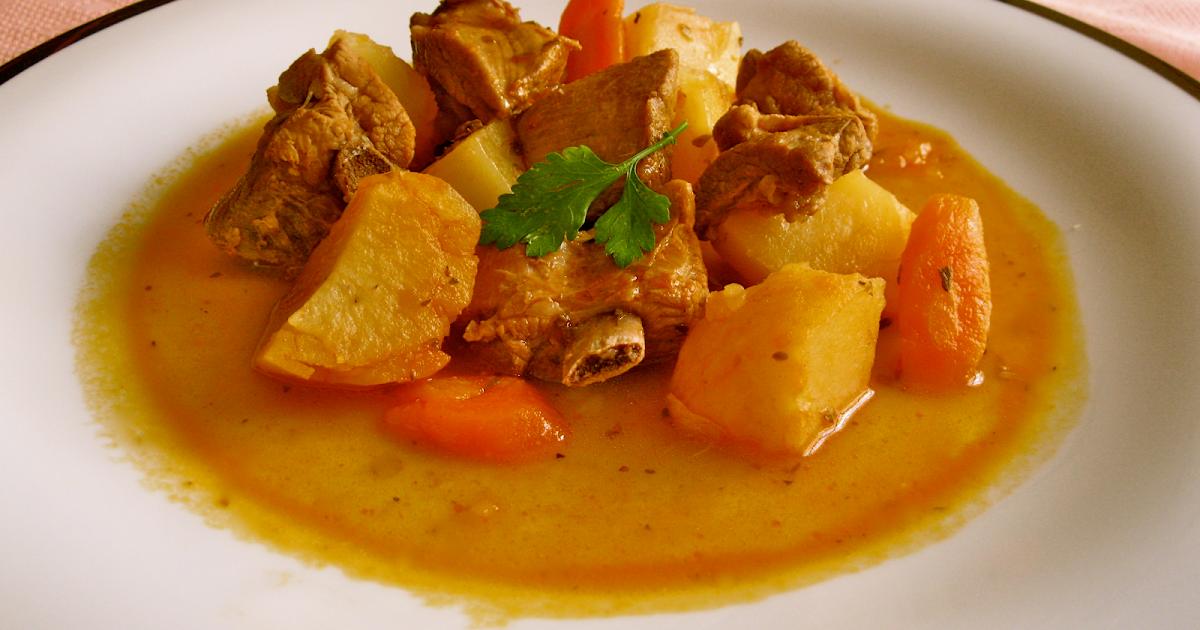 La cocina en el sur costillas de cerdo iberico adobadas y - Patatas con costillas de cerdo ...