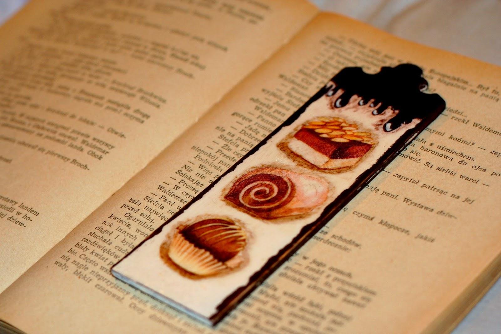 Słodka zakładka do książki