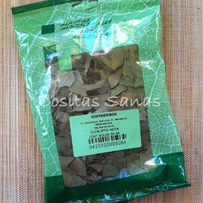 hojas de eucalipto infusión, propiedades