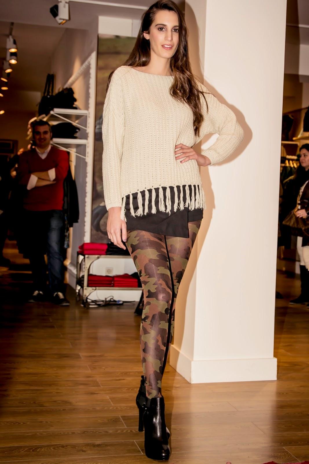 Cecilia de Rafael, Dandara, Moda, desfile, medias, lycra, fashion, style, Looks