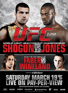 UFC 128 Shogun vs Jones Fight Card