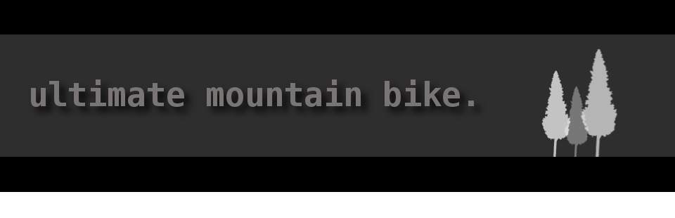 ultimate mountain bike