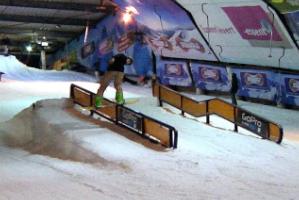 Rookie Snowboarder Casper Wolf in Snowworld Zoetermeer