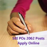 Probationary Officer Online Application for Preliminary Exam 2015-16, SBI 2062 PO Vacancy Apply Online 13/04/2015 to 02/05/2015, SBI PO Cut Off Preliminary