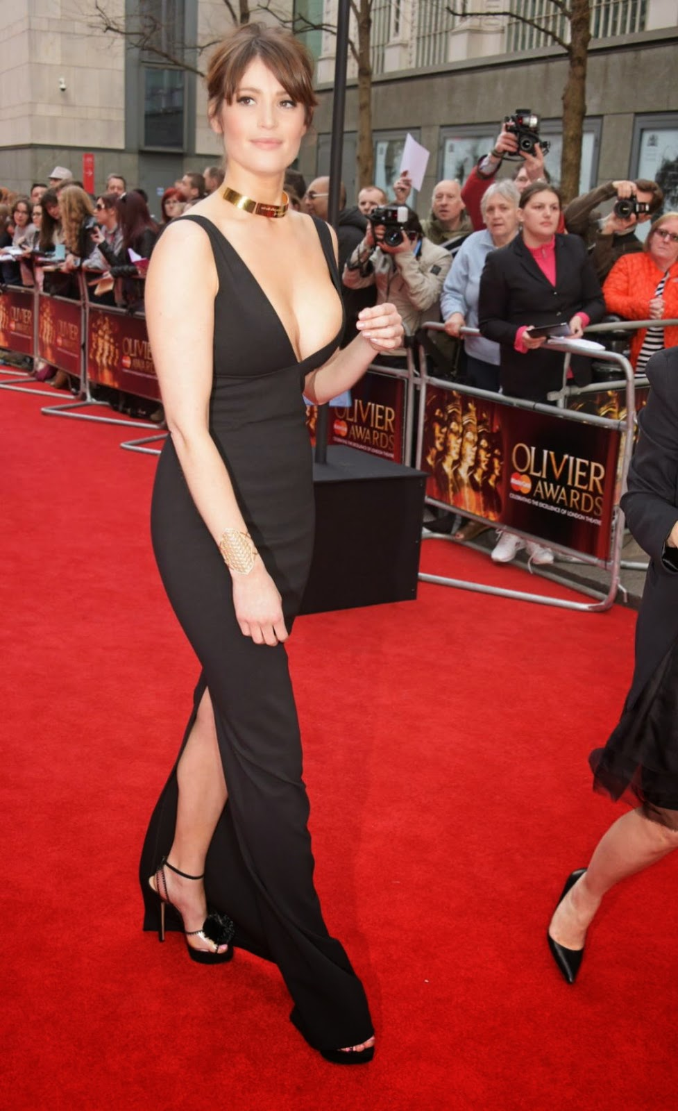 Gemma Arterton – 2015 Olivier Awards in London