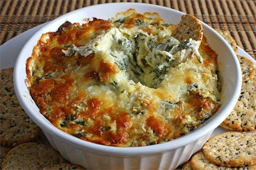 Hot Artichoke Dip. Hot Spinach and Artichoke Dip
