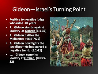 Chiastic pattern of Gideon
