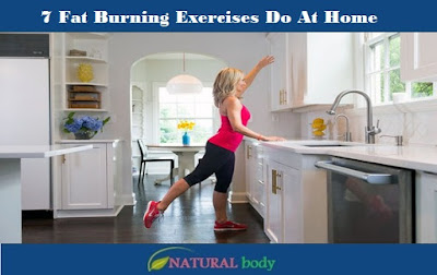 7 Fat Burning Exercises Do At Home