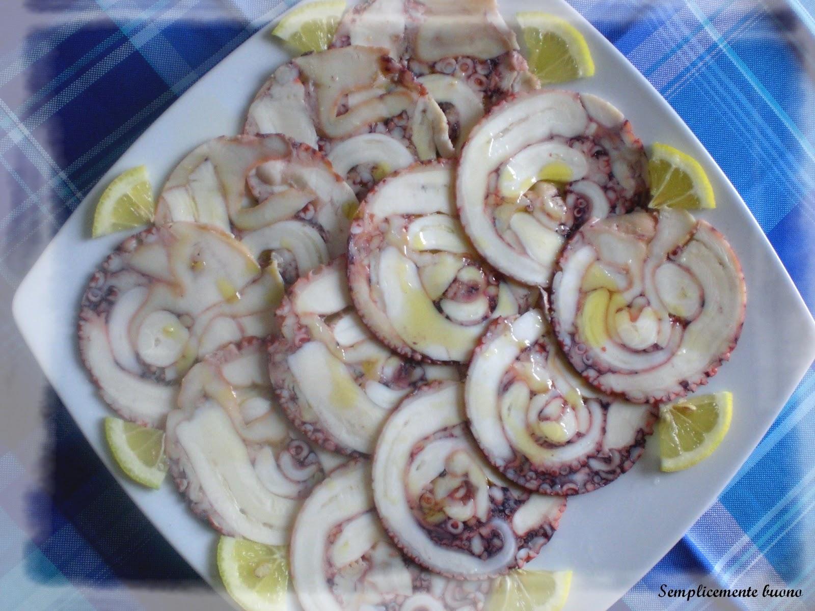 Карпаччо из осьминога рецепт
