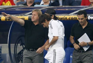 funny picture of real madrid player raul