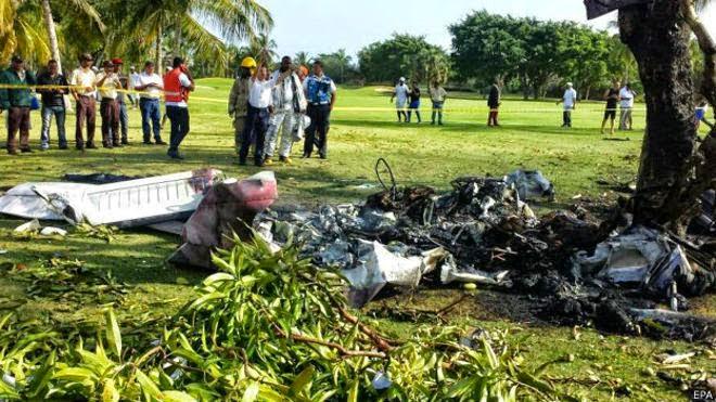 accidente aéreo en Punta Cana