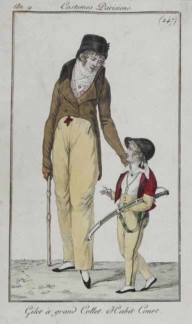 Costume Parisien 1801