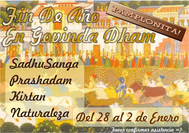 Año nuevo en Govinda Dham