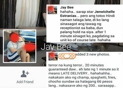 Doc Jay Bee jollibee late delivery