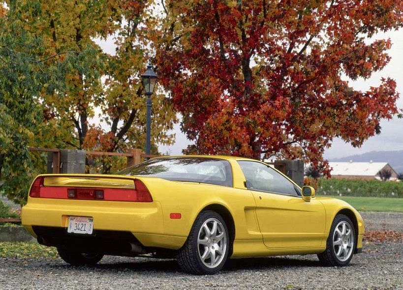 2001 Acura NSX-T Exterior Rear Side View