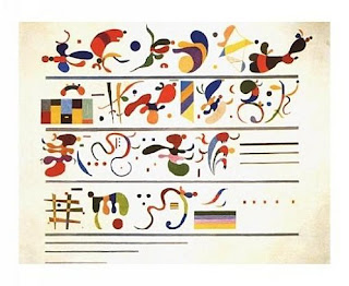 Succession 1935 - Wassily Kandinsky painting