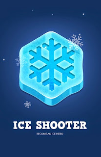 Screenshots of the Ice shooter for Android tablet, phone.