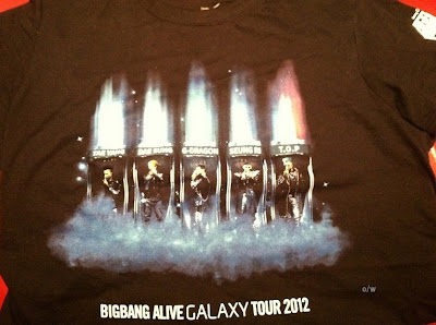 Big Bang Alive concert NJ VIP swag 121109